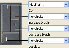 Expresskeys setup for Photoshop